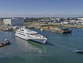 Echo Yachts delivers world's largest tri-hulled superyacht 'White Rabbit'