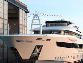 52m superyacht  FLORENTIA launched by Rossinavi