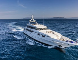 Superyacht FERDY Open for Summer Charters in the Mediterranean