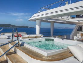 Superyacht KATINA announces charter availability in the Caribbean