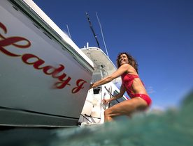 Superyacht 'Lady J' Refit And Available For Charter In The Caribbean