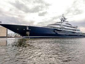 Ex-charterer buys brand new 111m/366ft Lurssen superyacht TIS