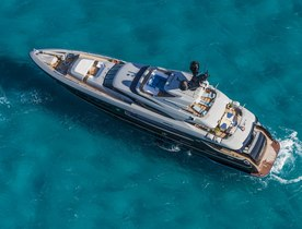 Motor Yacht NAMELESS New to Global Charter Fleet