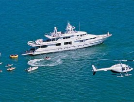 Motor Yacht STARSHIP Reveals Last Minute Availability for a Bahamas Charter This Christmas