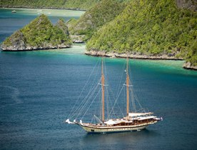 Sailing Yacht LAMIMA Available for Charter in the Raja Ampat Islands