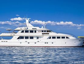 Luxury Yacht 'Lady J' Open for New Year's Charter in the Caribbean