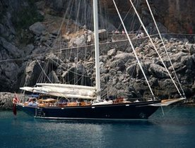 Luxury Sailing Yacht ALEXA Available in Spain