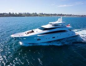 Motor Yacht PARADISE Joins the Global Charter Fleet in Australia