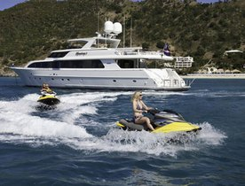 Charter Yacht 'SYMPHONY II' Offers Labour Day Special Deal