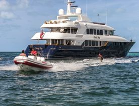 Superyacht BACCHUS Open for New Year Charters in the Caribbean