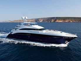 Princess Yachts 40m 'Solaris' New to Charter