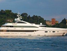 Superyacht TURQUOISE Charter Gap in Montenegro