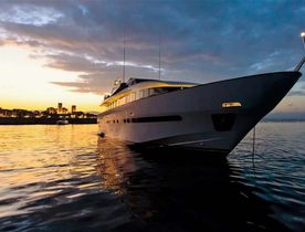 Special reduced rate for Mediterranean yacht charter with 32M superyacht 'Pas Encore'