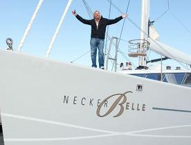 Charter Richard Branson's NECKER BELLE Yacht Before She Sells