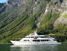 All-inclusive rate announced on Norway charters with luxury yacht DAYDREAM