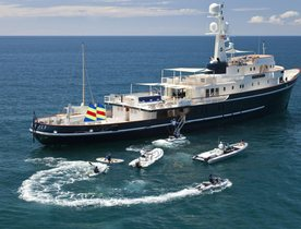 Motor Yacht SEAWOLF Completes Major Refit