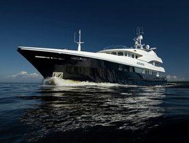 Charter Yacht LATITUDE in the Mediterranean This Summer