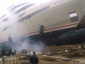 72m Superyacht O'Pari 3 Launched in Greece