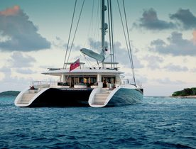 World's largest luxury catamaran HEMISPHERE opens for Tahiti yacht charters