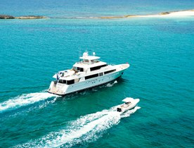 Superyacht ARIOSO Available for New Year's Charter in the Grenadines