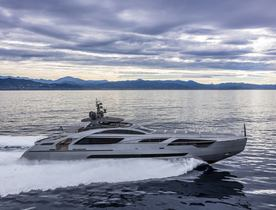 Pershing delivers second Pershing 140 'Touch Me'