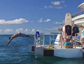 Celebrate the holidays in the Caribbean aboard superyacht JAGUAR