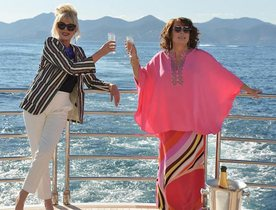 Charter Yacht THUMPER Stars In 'Absolutely Fabulous: The Movie'