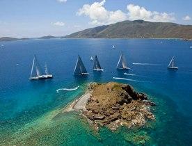 Superyachts begin registering for the Loro Piana Caribbean Regatta & Rendezvous 2016