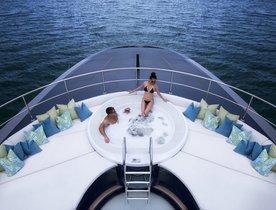 Thailand charter deal on board motor yacht 'Ocean Emerald'