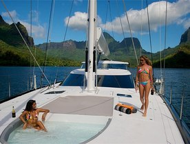 S/Y BLISS Arrives in Tahiti, Available to Charter this Summer