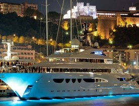 Lurssen Party Aboard 88m Quattroelle Yacht at MYS 2013