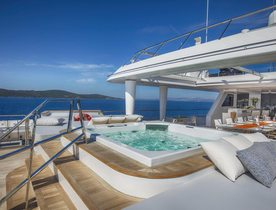 Motor Yacht KATINA Heads to the Maldives and South East Asia for Winter