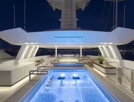 Superyacht 'Liquid Sky' available to charter over the holidays in the Caribbean