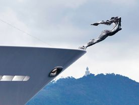 Superyacht TITANIA Features New Yacht Mascot