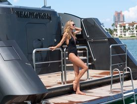 Superyacht TEMPTATION Offers Special Charter Rate In The Bahamas