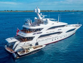 Superyacht AVALON opens for Alaska yacht charters this summer