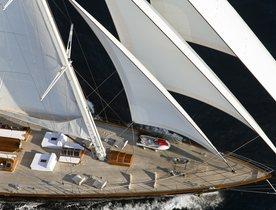 Sailing Yacht REGINA Open for Monaco Grand Prix Charters