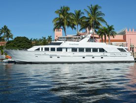 Refitted Superyacht 'GOOD TIMES' Available in Florida