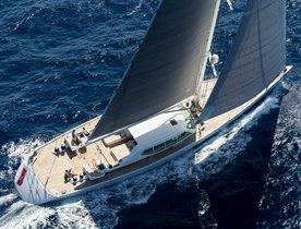 Luxury sailing yacht GLISS joins the Mediterranean charter fleet