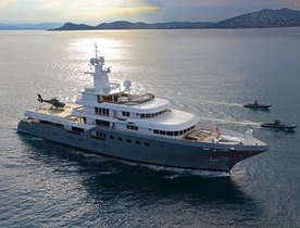 Superyacht 'Planet Nine' accepting offers on yacht charters in the Caribbean