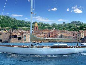 Sailing Yacht ANNAGINE Decreases Mediterranean Charter Rate