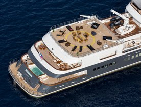 Superyacht LEGEND offers once in a lifetime charter opportunity