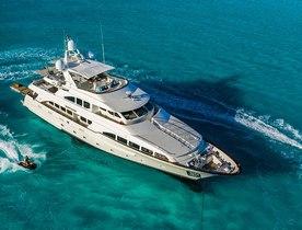 35m Benetti motor yacht HEAVEN CAN WAIT new to Bahamas charter fleet