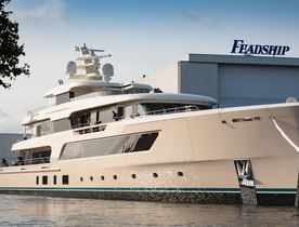 Brand New 70m Feadship Superyacht SAMAYA Nears Delivery