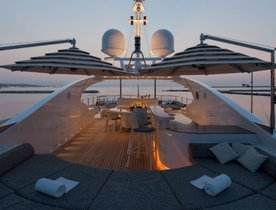 ISA Motor Yacht AZIZA Opens for Summer Charters in Ibiza
