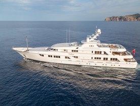 Superyacht CALLISTO Joins Global Charter Fleet