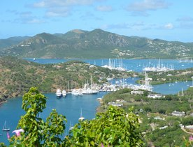 Superyachts Prepare for the Antigua Charter Yacht Show 2017