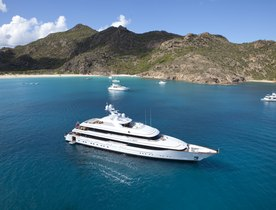 Superyacht 'Lady Britt' has Charter Gap in the Mediterranean