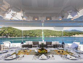 Luxury yacht FERDY offers Italian Riviera charter special