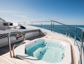 Benetti Superyacht H New to Charter Market